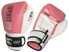 Sporteq Pink Professional Leather Boxing, Sparring Gloves All Sizes