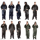 Men's Waterproof Jacket, Long Water Proof Coats Jackets, S-XXL Black Navy Olive