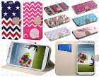 For Samsung Galaxy S4 S IV Premium Leather Wallet Pouch Flip Cover Accessory