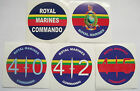 ROYAL MARINES CAR BUMPER STICKERS - ROUND