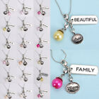 Living Memory imitation pearl Lockets Floating charms Dangles Glass Jewelry New