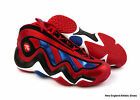 adidas Crazy 97 basketball shoes for men  - Light Scarlet / Blue / White / Black