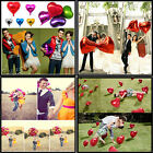 "18""/45cm Foil Heart Love Shape Helium Balloons Birthday Party Wedding Decoration"