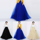 Hot Vintage Bowknot Empire Waist Chiffon Pleated Long Maxi Skirt Gown Reliable
