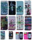 Wallet Card Holder Stand Flip PU Leather Case Cover For Samsung LG Cell Phone
