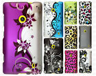 For Nokia Lumia 520 Rubberized Hard Case Snap on Phone Cover + Screen Protector