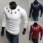 Fashion Stylish Casual O-NECK Slim Fit Long Sleeve T-Shirts Shirts 3-Colors