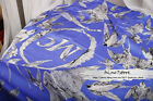 NWT Alexande Mc queen MCQ Swallow Blue Black Pink Silk scarf New Arrival
