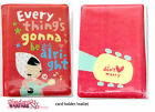 Kawaii Cute Korean 'Don't Worry' Bank Credit Card Case Wallet Holder Lolita