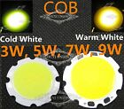 COB SMD High Power LED Bead Lamp Chip 3W 5W 7W 9W Warm White/Cold White Light