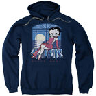 Betty Boop Cartoon Moonlight Adult Pull-Over Hoodie $41.95 USD on eBay