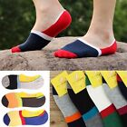 Men Casual Loafer Boat Invisible Low Cut No Show Cotton Silica Gel  Sport Socks