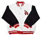 LA Los White Angeles  Varsity Baseball Jacket