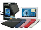 Leather Case+Screen Cleaner Pad+Stylus for Samsung Galaxy Note 10.1