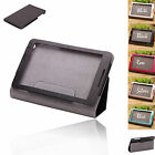 New 3 Folding Synthetic PU Leather Sands Case Cover for Lenovo IdeaTab A5500 8""