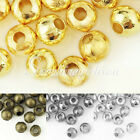 60/150pcs(20g) About 4/6mm Iron Round Spacer Crimps End Beads Findings Hot Sell