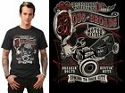 Steady Clothing ~ Hot Rods & Broads Mens T Shirt ~ Rockabilly 50s Retro Vintage