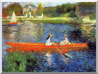 The Skiff Pierre Auguste Renoir Painting Reproduction Stretched Canvas Art Print