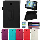 """Slim PU Leather Case For Samsung Galaxy Tab 3 7.0"""" 7"""" Tablet P3200 P3210 T210"""