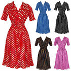 The Seamstress Of Bloomsbury 1942 Vintage 40S Ww2 Designer Swing Jive Tea Dress