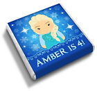 Personalised 'Frozen' (Elsa & Anna) Girl's Birthday Party Bag Favour Chocolates