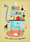 Poster / Leinwandbild lets cook together - Elisandra