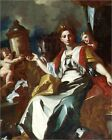 Poster / Leinwandbild Allegory of Europe - Francesco Solimena