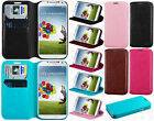 For Samsung Galaxy S4 S IV Premium Wallet Case Pouch Flap STAND Cover Accessory