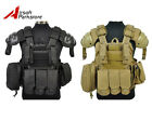 1000D Airsoft Tactical Military Molle Plate Carrier Vest with Shoulder Protector