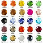 72pcs Loose Faceted Glass Crystal Round Beads 10x10mm Wholesale Hole Size 1.5mm