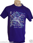 T-shirt mode RATP Plan Metro carte Subway PARIS France