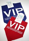 "Fun Dog/Pet Bandana/Scarf Ties Around Neck - ""VIP ~ VERY IMPORTANT POOCH"""