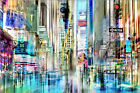 Poster / Leinwandbild times square USA NYC New York Collage - Nettesart