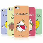 HEAD CASE YUMMY DOODLE TPU REAR CASE COVER FOR APPLE iPHONE 5S