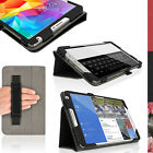 """PU Leather Folio Case for Samsung Galaxy Tab S 8.4"""" SM-T700 SM-T705 Stand Cover"""