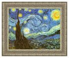 Vincent van Gogh The Starry Night Painting Reproduction Framed Art Ready to Hang