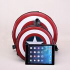 Popular Unisex Avengers Captain America Shield Student Backpack Book Bag