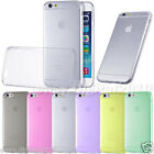 TPU SOFT SILICONE CLEAR GEL BACK CASE COVER FOR iPHONE 6 IPHONE 6 PLUS + SCREEN
