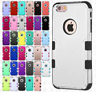 For Apple iPhone 6 / 6s IMPACT TUFF HYBRID Case Skin Phone Covers Accessory