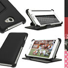 PU Leather Skin Flip Case for Sony Xperia M2 D2303 Folio Stand Cover Screen Prot