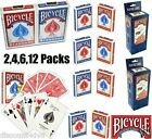 2,4,6,12 Packs Of Bicycle Standard POKER/Playing Cards/Decks –Trusted since 1885