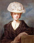 Poster / Leinwandbild Miss Mary Hickey, 1770 - Sir Joshua Reynolds