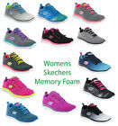 Women Skechers Flex Appeal Memory Foam Comfort Lightweight Trainers Size 4-8
