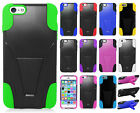 For Apple iPhone 6 Plus 5.5 Advanced YBRID KICKSTAND Rubber + Screen Protector