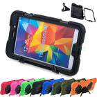 Rugged KickStand Shockproof Hard Case Cover for Samsung Galaxy Tab 4 7.0 7''