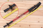 TB Hot New Adjustable AntiShock Hiking Walking Stick Pole Retractable Compass CA
