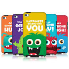 HEAD CASE MOTIVATIONAL MONSTERS BACK COVER FOR APPLE iPOD TOUCH 4G 4TH GEN