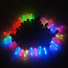 5m 28 LED Black Wire Strawberry String Light Lamp For Party Wedding Decoration
