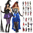 Ladies Womens New Sexy Horror Girl Halloween Party Fancy Dress Outfit Costume