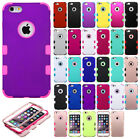 For Apple iPhone 6 6S Plus IMPACT TUFF HYBRID Protector Case Skin Phone Cover